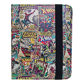 Marvel Comics Tablet Cases Retro Superhero Apple iPad Cover Comic Book Case - Mobile phones