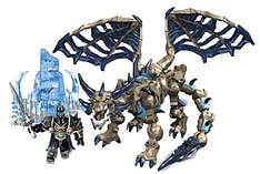 Mega Bloks World of Warcraft Sindragosa and The Lich King screen shot 1