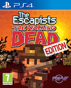 The Escapists: The Walking Dead PlayStation 4 Cover Art