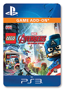 LEGO® Marvel's Avengers Season Pass (PlayStation 3) PlayStation 3 Cover Art