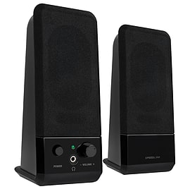 SPEEDLINK Event USB 2.0 Stereo Speakers Black (SL-8004-BK) Multi Format and Universal