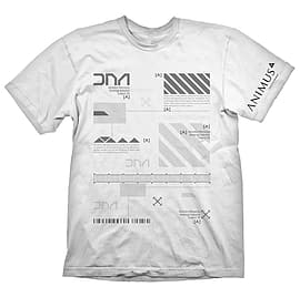 ASSASSINS CREED Animus Powered By Abstergo Industries T-Shirt XXL White (GE1800XXL) Clothing
