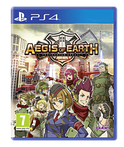 Aegis of Earth: Protonovus Assault PlayStation 4 Cover Art
