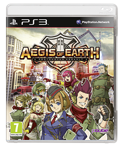 Aegis of Earth: Protonovus Assault PlayStation 3 Cover Art
