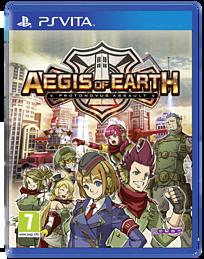 Aegis of Earth: Protonovus Assault PS Vita Cover Art