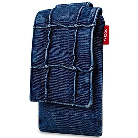 Sox Denim Life Style Mobile Phone Bag For Iphone/samsung And More, Texture (sox Kds 14) Mobile phones