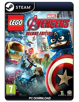 Lego Marvel Avengers DELUXE PC Cover Art