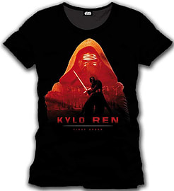 Star Wars Vii Men's The Force Awakens Kylo Ren - First Order T-shirt, Small, Black (cd134stw-s) Clothing