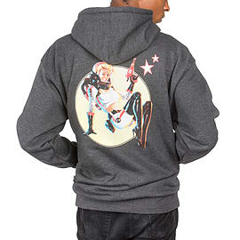 Fallout 4 Nuka Cola Pinup Hoodie - Large - Officially Licensed Merchandise Clothing