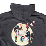 Fallout 4 Nuka Cola Pinup Hoodie - Large - Officially Licensed Merchandise screen shot 1