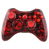 Xbox 360 Controller -Red Tattoo Skull screen shot 2