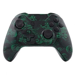 Xbox One Controller -Green Skull XBOX ONE
