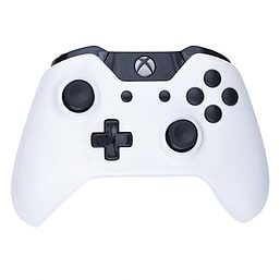 Xbox One Wireless Controller - White & Black Buttons XBOX ONE