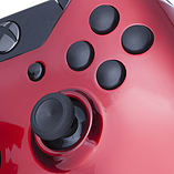 Xbox One Controller -Crimson Red & Black Buttons screen shot 1