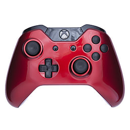 Xbox One Controller -Crimson Red & Black Buttons XBOX ONE