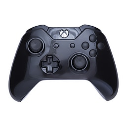 Xbox One Controller -Gloss Black & Black Buttons XBOX ONE