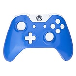 Xbox One Controller -Electric Blue & White Buttons screen shot 1