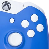Xbox One Controller -Electric Blue & White Buttons screen shot 2