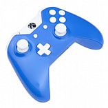 Xbox One Controller -Electric Blue & White Buttons screen shot 3