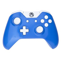 Xbox One Controller -Electric Blue & White Buttons XBOX ONE