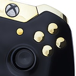 Xbox One Controller -Gloss Black & Gold screen shot 1