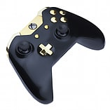 Xbox One Controller -Gloss Black & Gold screen shot 2