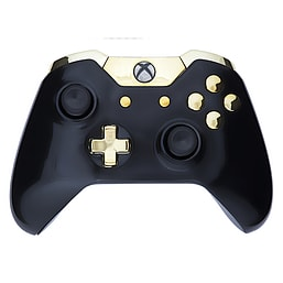 Xbox One Controller -Gloss Black & Gold XBOX ONE