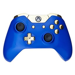 Xbox One Wireless Controller - Royal Blue & Gold XBOX ONE