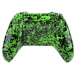Xbox One Controller -Green Tattoo Skull screen shot 1