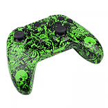 Xbox One Controller -Green Tattoo Skull screen shot 4