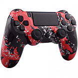 Playstation 4 Controller -Red Subterfuge Edition screen shot 2
