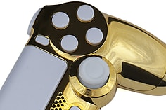 Playstation 4 Controller -Chrome Gold & White screen shot 1