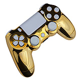 Playstation 4 Controller -Chrome Gold & White screen shot 3