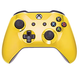 Xbox One Wireless Controller - Gold & Black Buttons XBOX ONE