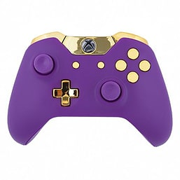 Xbox One Wireless Controller - Matte Purple & Gold Edition XBOX ONE