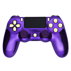 Playstation 4 Controller -Chrome Purple & Gold PS4