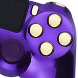 Playstation 4 Controller -Chrome Purple & Gold screen shot 1