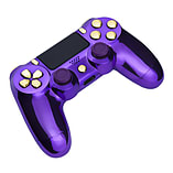 Playstation 4 Controller -Chrome Purple & Gold screen shot 3