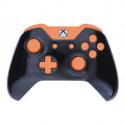 Xbox One Controller -Black & Orange Buttons XBOX ONE