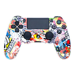 Playstation 4 Controller -Sticker Bomb PS4