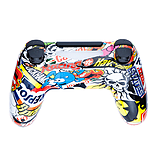 Playstation 4 Controller -Sticker Bomb screen shot 4