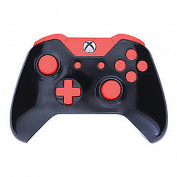 Xbox One Controller -Gloss Black & Red Edition XBOX ONE