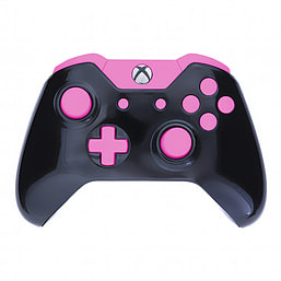 Xbox One Controller -Gloss Black & Pink Edition XBOX ONE