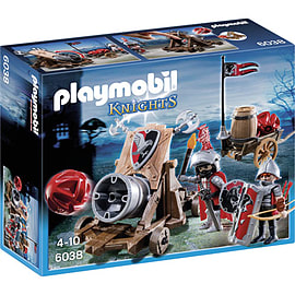 PLAYMOBIL Hawk Knights Battle Cannon Blocks and Bricks