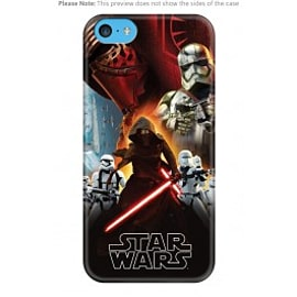 iPhone 5C Case - Star Wars VII Montage Mobile phones