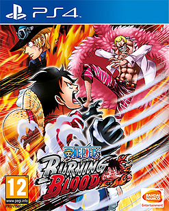 One Piece Burning Blood PlayStation 4 Cover Art