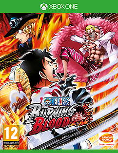 One Piece Burning Blood Xbox One Cover Art
