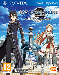 Sword Art On Line : Hollow Realization PS Vita Cover Art