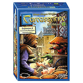 Carcassonne 2.0 Expansion 2: Traders and Builders Traditional Games