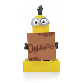 Mega Bloks Despicable Me Minions Series 3 Figure - Kevin (Orlando Sign) Blocks and Bricks